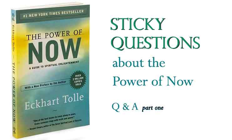 Talk on Ekhart Tolle The Power of Now post image