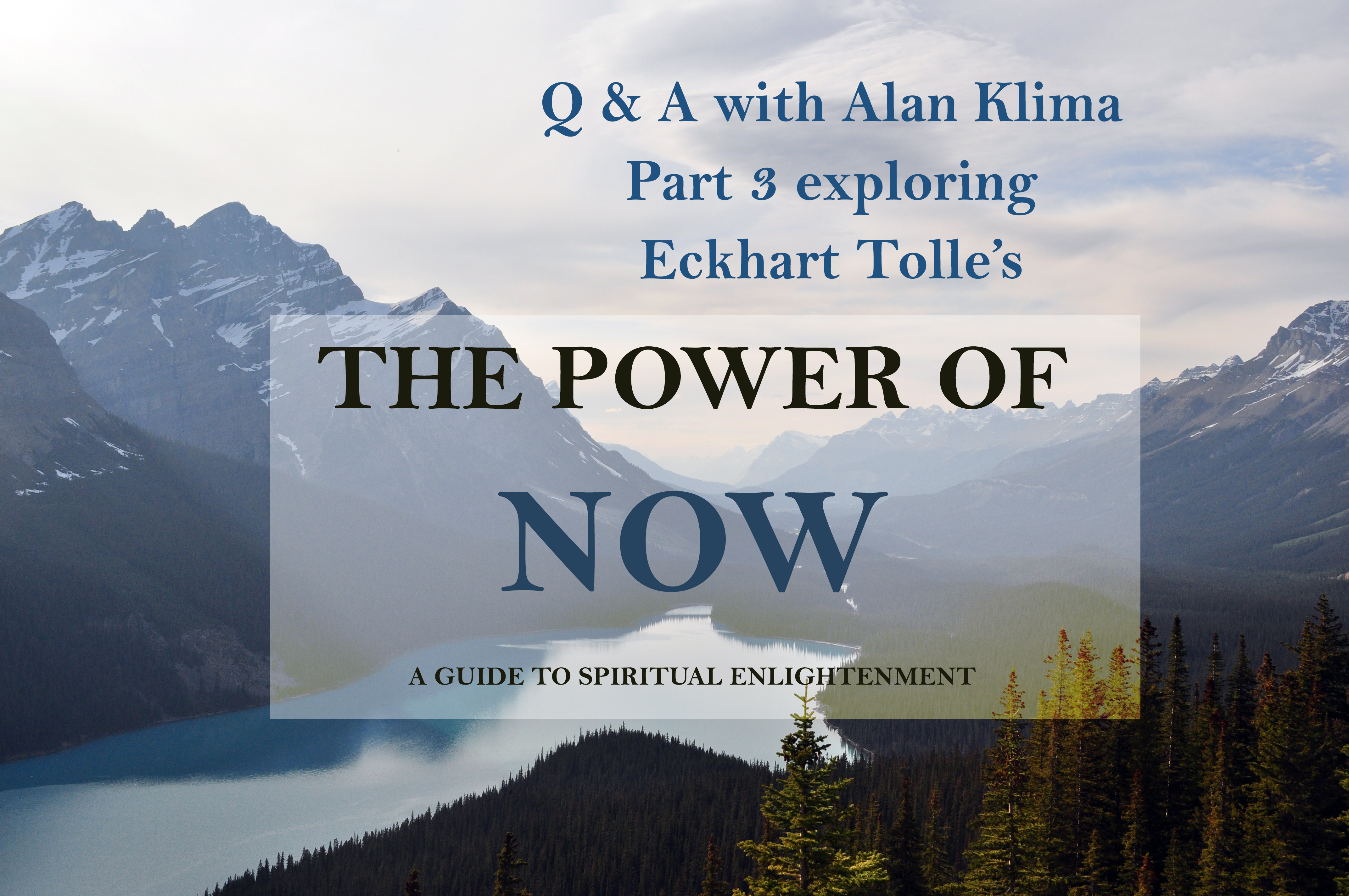 Talk on Ekhart Tolle Power of Now – Part 3: What Keeps Us From Harming Others post image